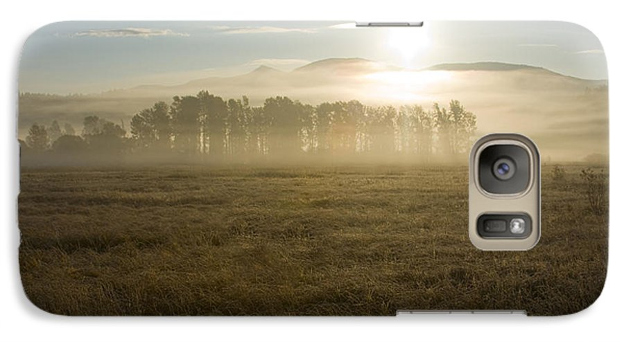 Atmosphere Galaxy S7 Case featuring the photograph October Atmosphere by Idaho Scenic Images Linda Lantzy