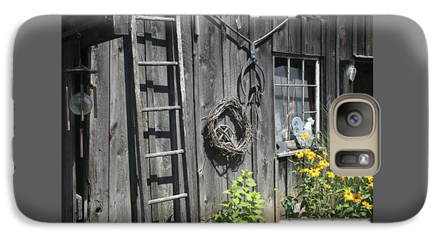 Barn Galaxy S7 Case featuring the photograph Old Barn II by Margie Wildblood