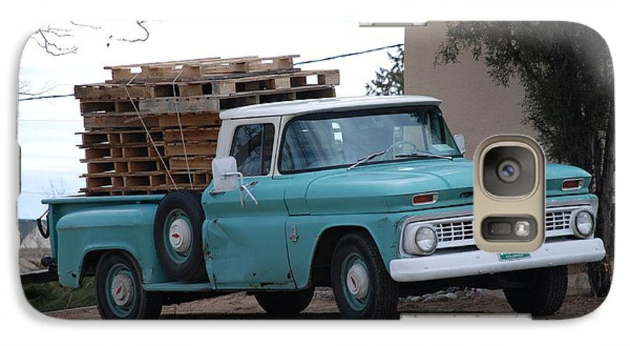 Old Truck Galaxy S7 Case featuring the photograph Old Chevy by Rob Hans