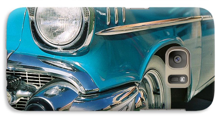 Chevy Galaxy S7 Case featuring the photograph Old Chevy by Steve Karol