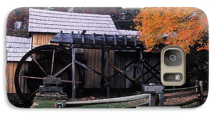 Waterwheel Galaxy S7 Case featuring the photograph Old Mill In Virginia by Carl Purcell