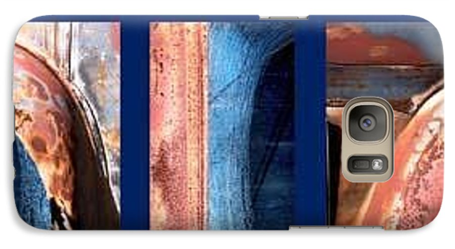 Abstract Galaxy S7 Case featuring the photograph Ole Bill by Steve Karol