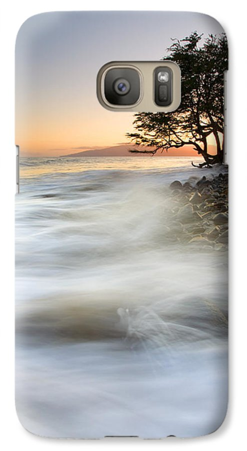 Sunset Galaxy S7 Case featuring the photograph One Against The Tides by Mike Dawson