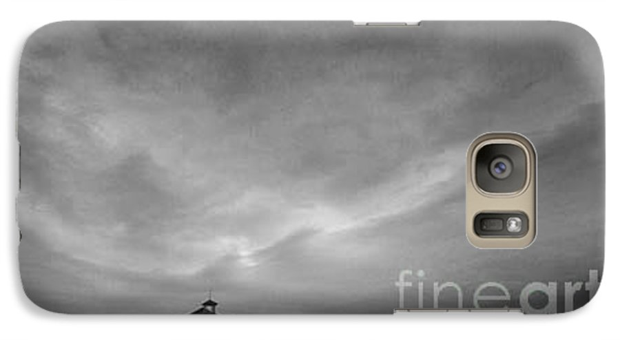 Landscape Galaxy S7 Case featuring the photograph One Room Schoolhouse by Michael Ziegler