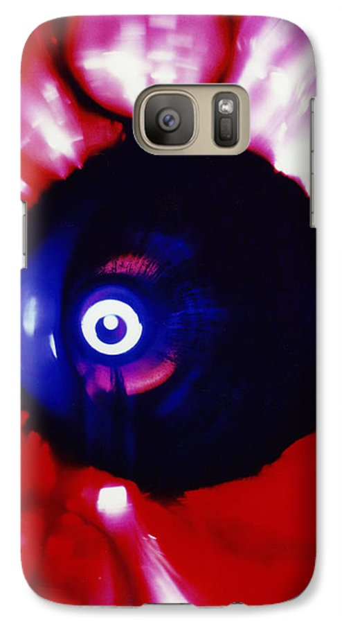 Abstract Galaxy S7 Case featuring the photograph Oracle by David Rivas