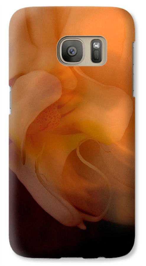 Orchid Galaxy S7 Case featuring the photograph Orchid Detail by Michael Ziegler