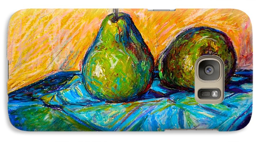Still Life Galaxy S7 Case featuring the painting Other Pears by Kendall Kessler