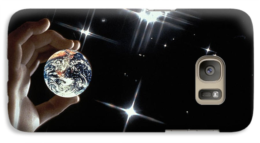 Stars Galaxy S7 Case featuring the photograph Our Precious Planet by Carl Purcell