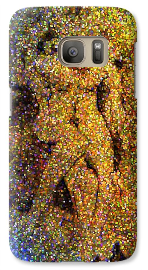 Abstract Galaxy S7 Case featuring the digital art Out Of Eden by Dave Martsolf