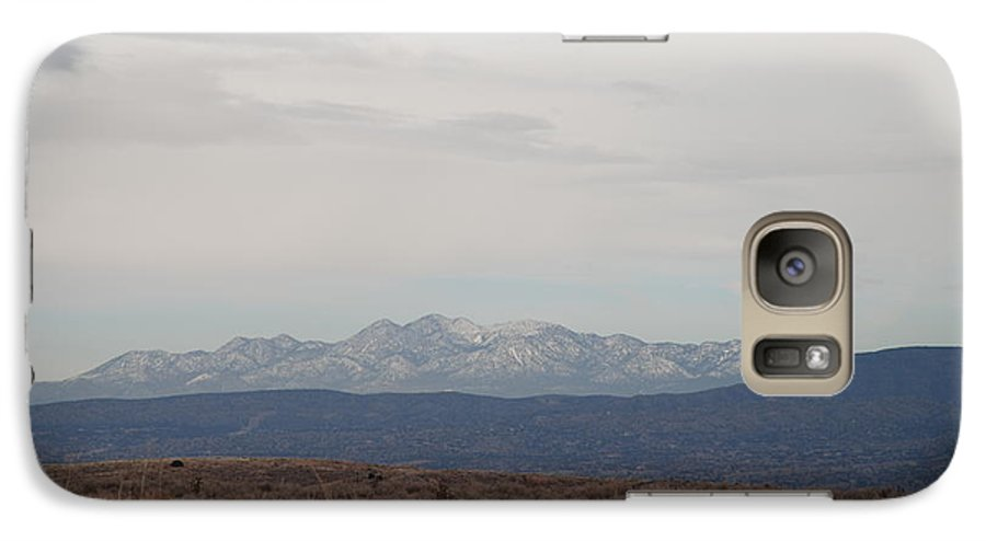 Mountains Galaxy S7 Case featuring the photograph Overcast On The Sandias by Rob Hans