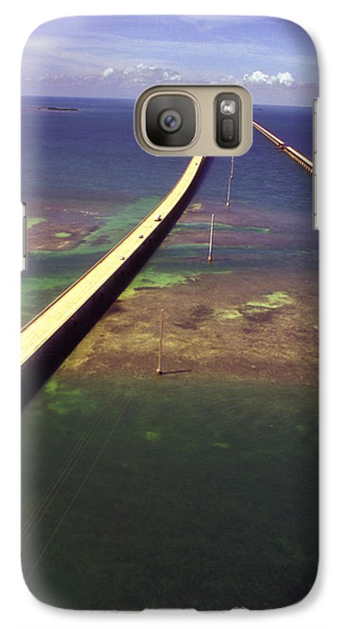 U.s. 1 Galaxy S7 Case featuring the photograph Overseas Highway by Carl Purcell