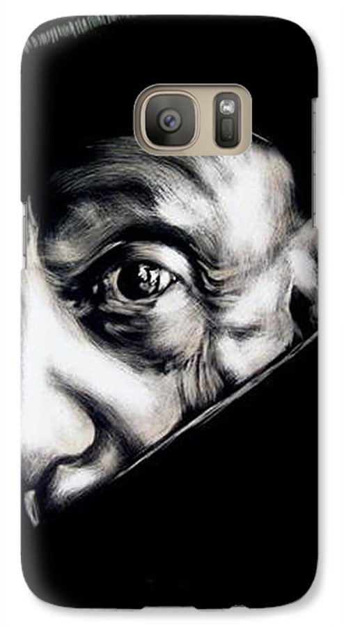 Galaxy S7 Case featuring the mixed media Pablo by Chester Elmore