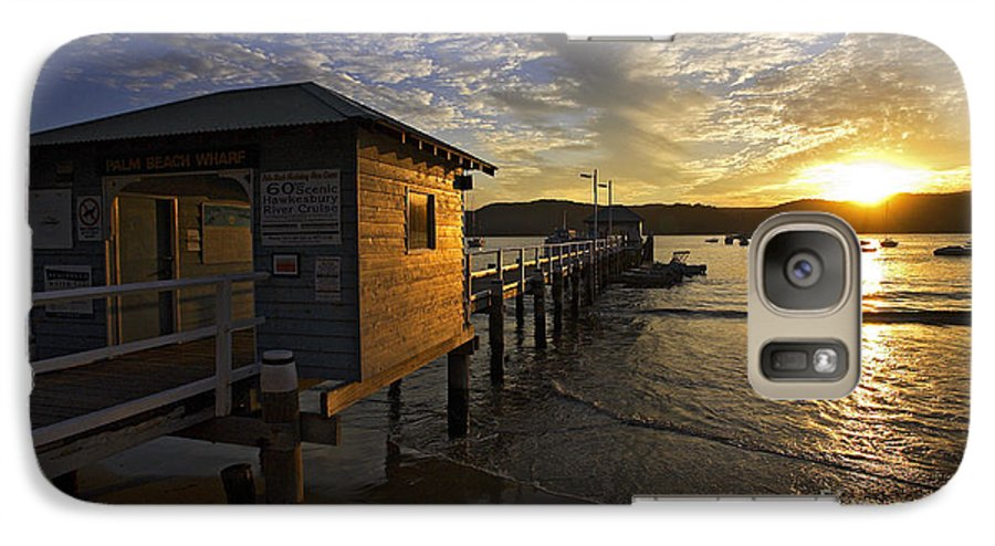 Palm Beach Sydney Australia Sunset Water Pittwater Galaxy S7 Case featuring the photograph Palm Beach Sunset by Sheila Smart Fine Art Photography