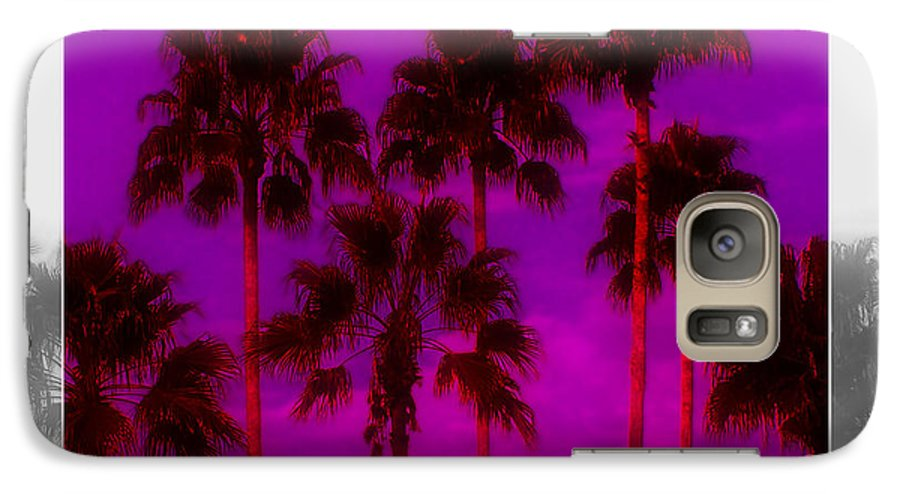 Palm Galaxy S7 Case featuring the photograph Palm Tree Heaven by Kenneth Krolikowski