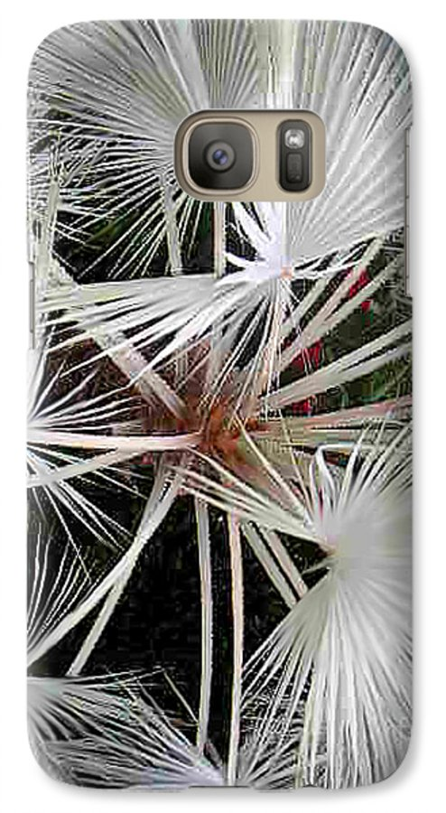 Nature Galaxy S7 Case featuring the photograph Palm Wonderful by Lucyna A M Green