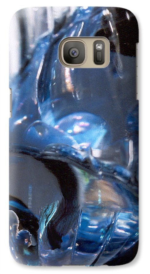Glass Galaxy S7 Case featuring the photograph Panel 2 From Swirl by Steve Karol