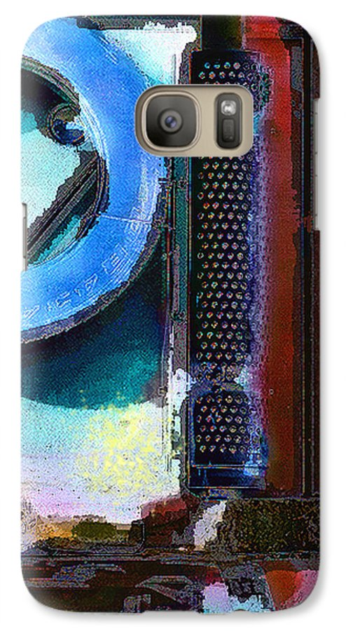 Abstract Galaxy S7 Case featuring the photograph panel one from Centrifuge by Steve Karol