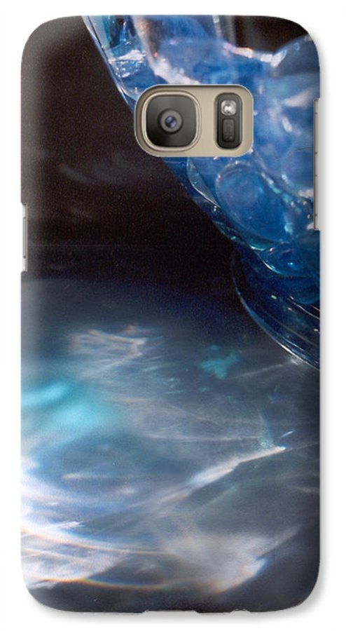 Abstract Galaxy S7 Case featuring the photograph Panel One From Swirl by Steve Karol