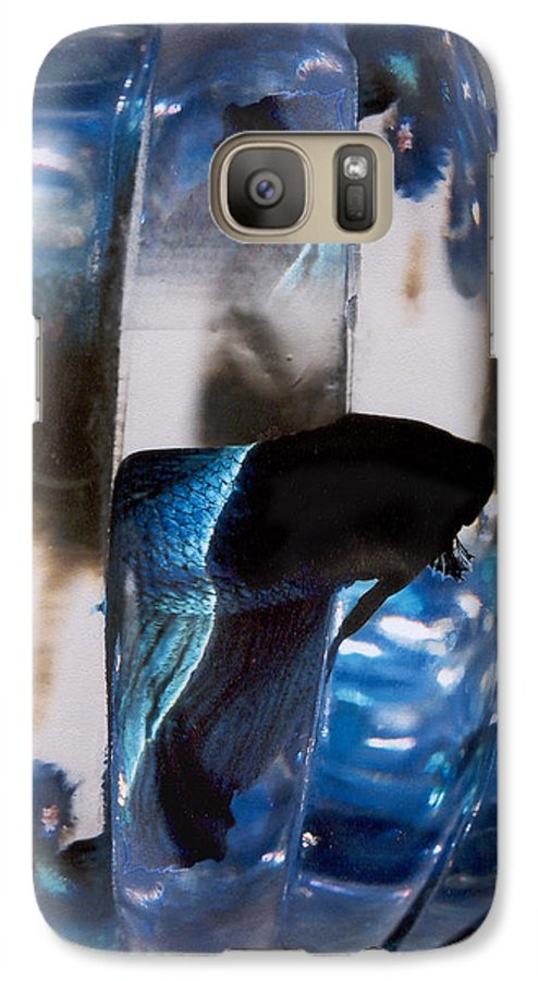 Abstract Galaxy S7 Case featuring the photograph panel three from Swirl by Steve Karol