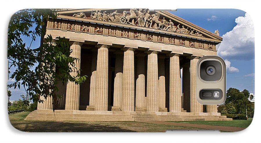 Parthenon Galaxy S7 Case featuring the photograph Parthenon Nashville Tennessee by Douglas Barnett
