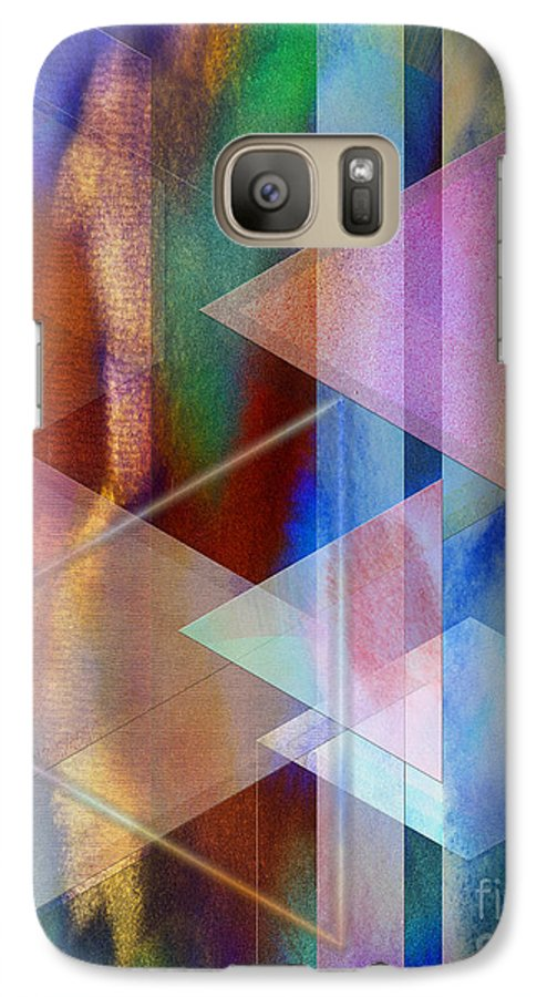 Pastoral Midnight Galaxy S7 Case featuring the digital art Pastoral Midnight by John Beck
