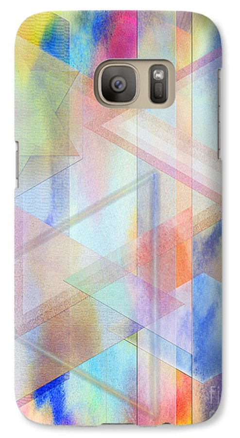 Pastoral Moment Galaxy S7 Case featuring the digital art Pastoral Moment by John Beck