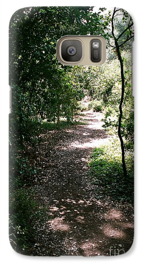 Path Galaxy S7 Case featuring the photograph Path by Dean Triolo