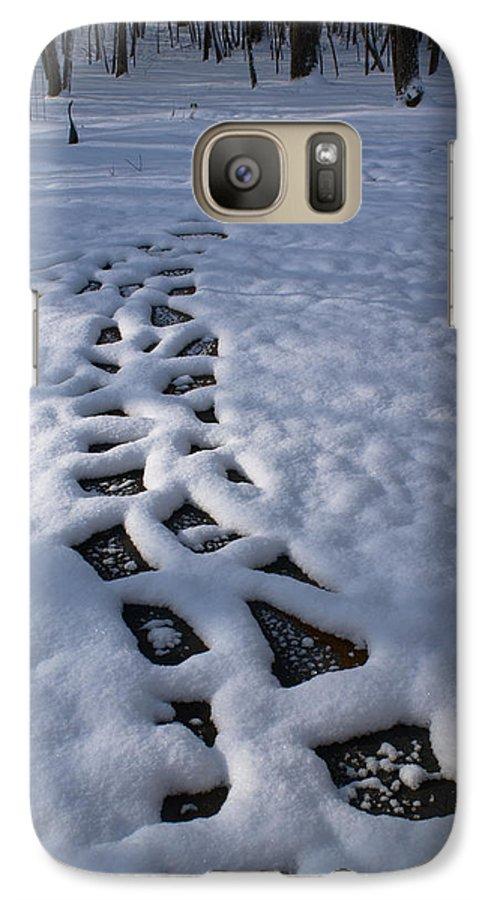 Path Galaxy S7 Case featuring the photograph Path by Douglas Barnett