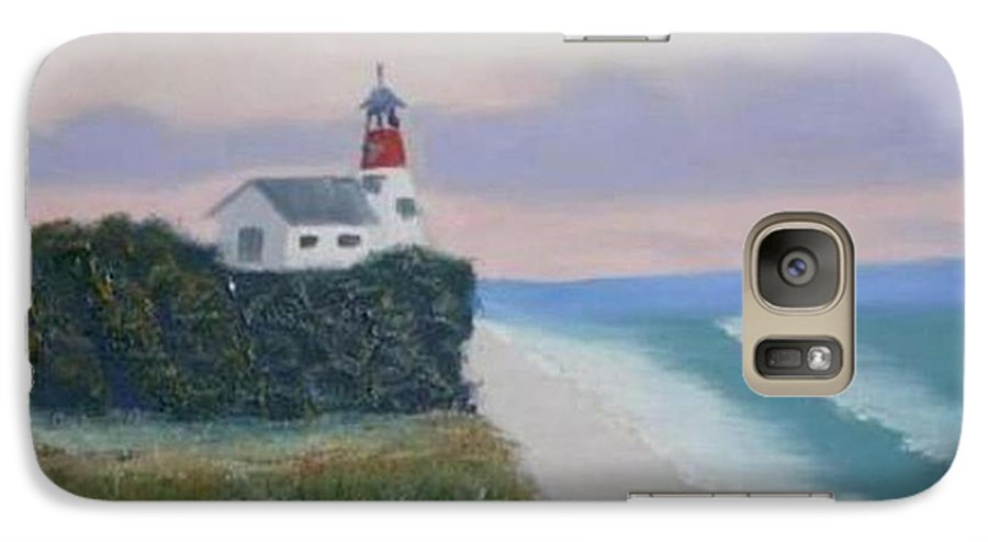 Seascape Galaxy S7 Case featuring the painting Peace Sold by R B