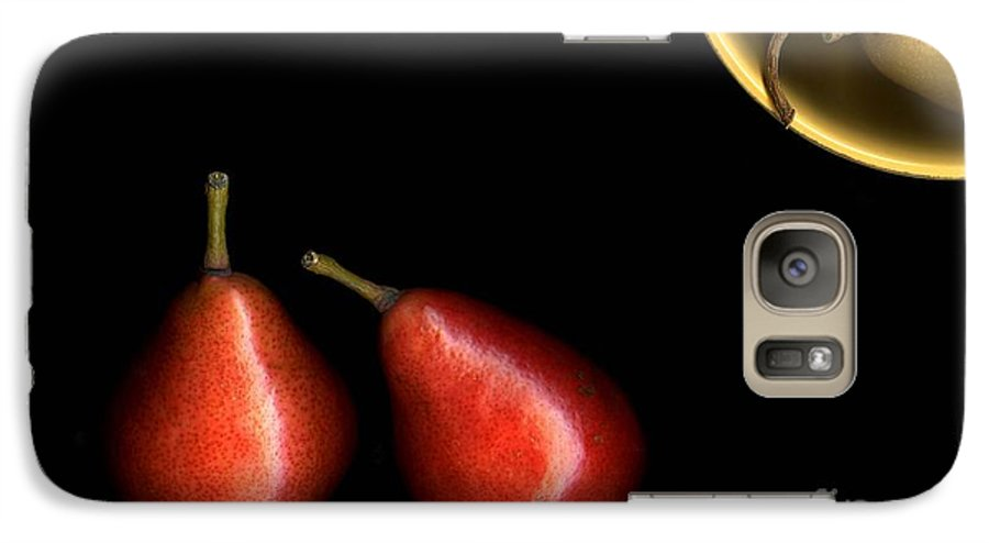 Pears Galaxy S7 Case featuring the photograph Pears And Bowl by Christian Slanec