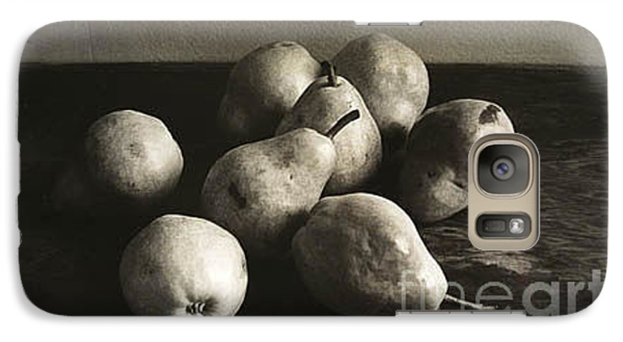 Pears Galaxy S7 Case featuring the photograph Pears by Michael Ziegler