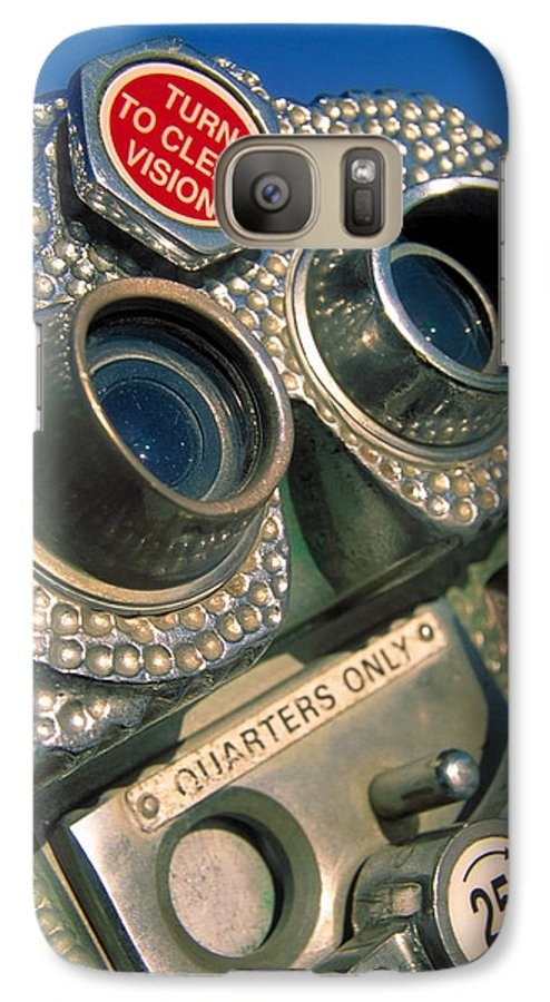 View Galaxy S7 Case featuring the photograph Peep Show by Skip Hunt