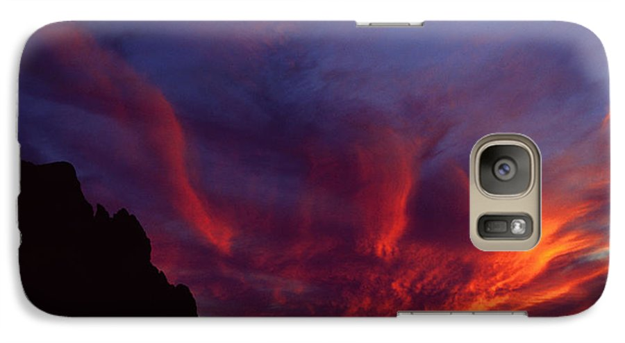 Arizona Galaxy S7 Case featuring the photograph Phoenix Risen by Randy Oberg
