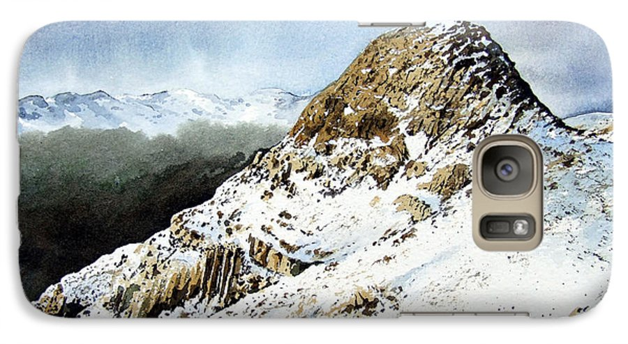 Pike O' Stickle Galaxy S7 Case featuring the painting Pike O' Stickle by Paul Dene Marlor