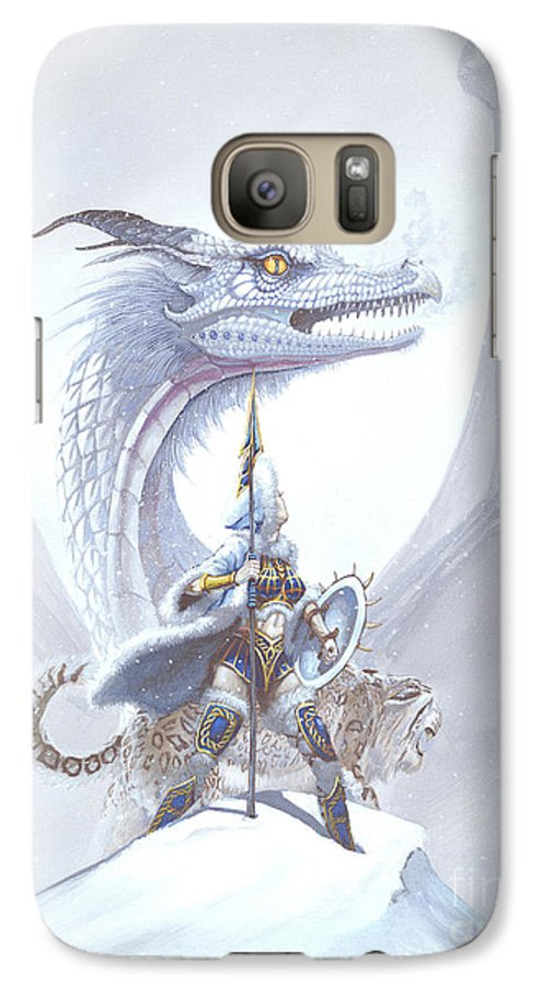 Dragon Galaxy S7 Case featuring the painting Polar Princess by Stanley Morrison