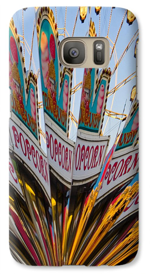 Concession Stand Galaxy S7 Case featuring the photograph Popcorn by Skip Hunt