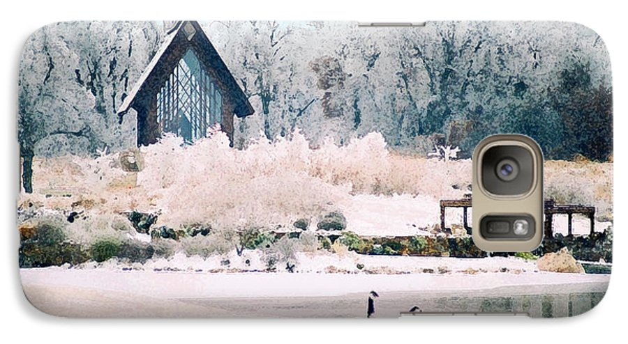 Landscape Galaxy S7 Case featuring the photograph Powell Gardens Chapel by Steve Karol