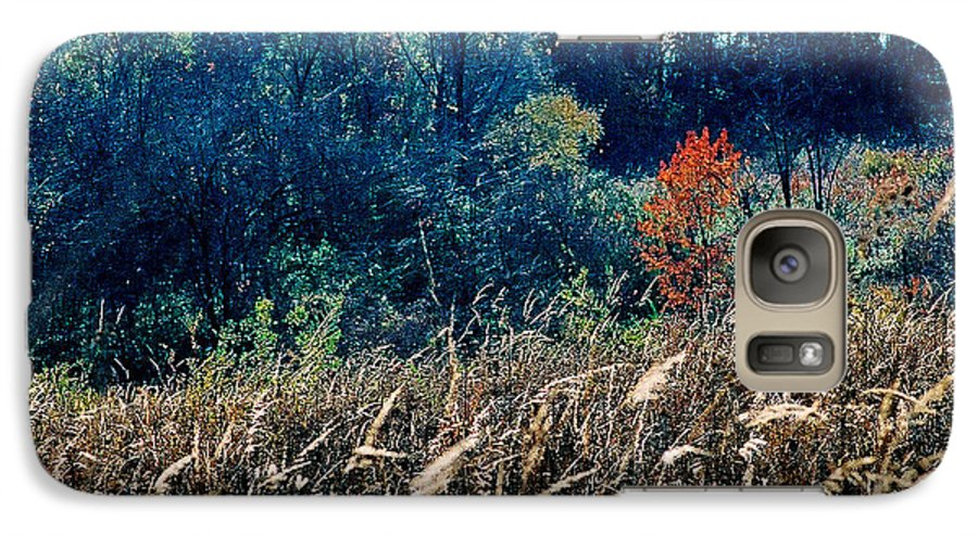 Landscape Galaxy S7 Case featuring the photograph Prairie Edge by Steve Karol