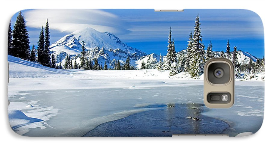 Rainier Galaxy S7 Case featuring the photograph Pristine by Mike Dawson
