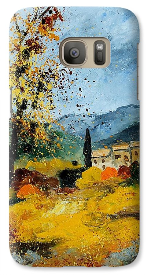 Provence Galaxy S7 Case featuring the painting Provence 45 by Pol Ledent