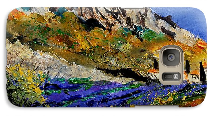 Flowers Galaxy S7 Case featuring the painting Provence 560908 by Pol Ledent