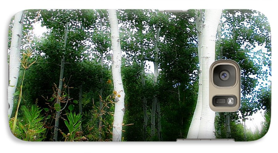 Aspens Galaxy S7 Case featuring the photograph Quaking by Idaho Scenic Images Linda Lantzy
