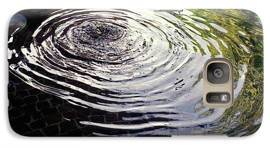 Rain Galaxy S7 Case featuring the photograph Rain Barrel by Carl Purcell
