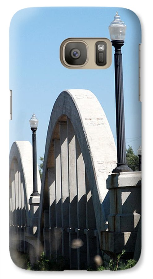 Landscape Galaxy S7 Case featuring the photograph Rainbow Bridge by Margaret Fortunato