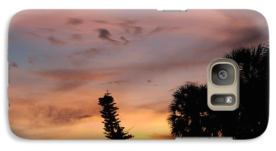 Sunset Galaxy S7 Case featuring the photograph Rainbow Sunset by Rob Hans