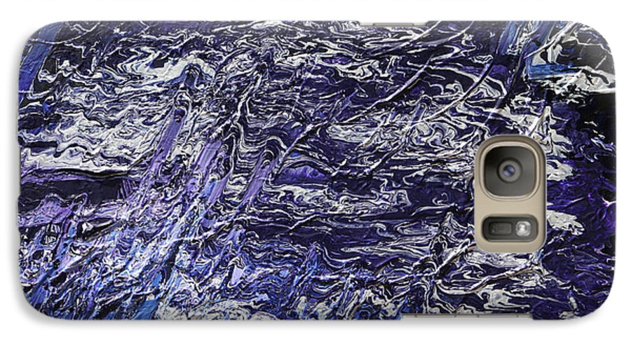 Fusionart Galaxy S7 Case featuring the painting Rapid by Ralph White