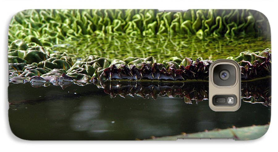 Lillypad Galaxy S7 Case featuring the photograph Ready To Spread by Amanda Barcon