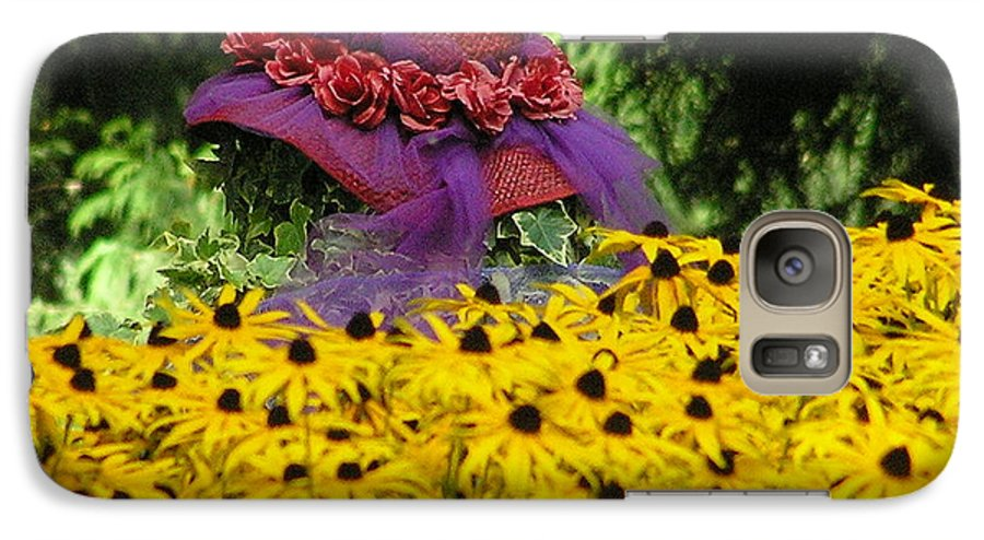 Red Hat Galaxy S7 Case featuring the photograph Red Hat Parade by Louise Magno