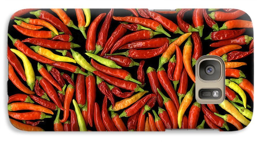 Color Galaxy S7 Case featuring the photograph Red Hots by Christian Slanec