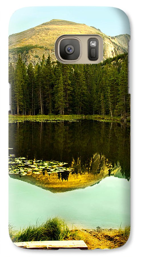 Reflection Galaxy S7 Case featuring the photograph Reflection by Marilyn Hunt